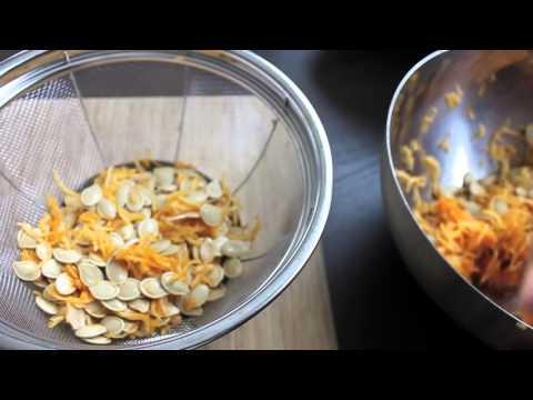 How To Clean Pumpkin Seeds