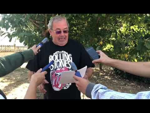 El alcalde de Portomarín parodia a Abel Caballero