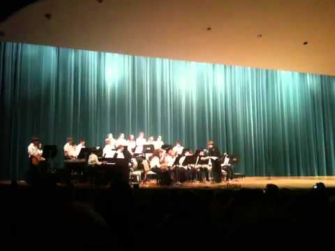 New Castle Middle School Jazz band 2