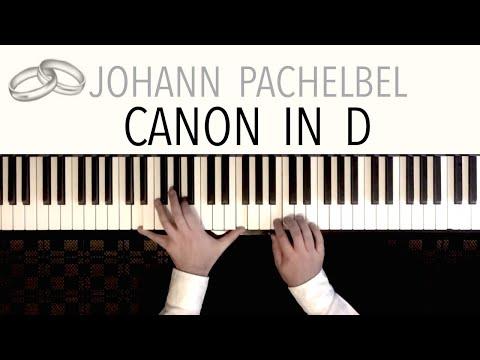Pachelbel - CANON IN D (Wedding Version) | Modern Piano Arrangement by Paul Hankinson