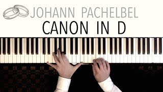 Pachelbel - CANON IN D (Wedding Version) | Modern Piano Arrangement by Paul Hankinson
