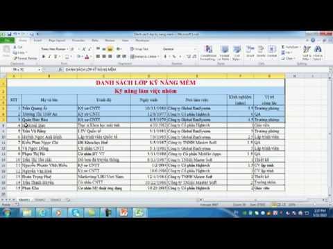Chương 3 bài 12: Macro trong Excel