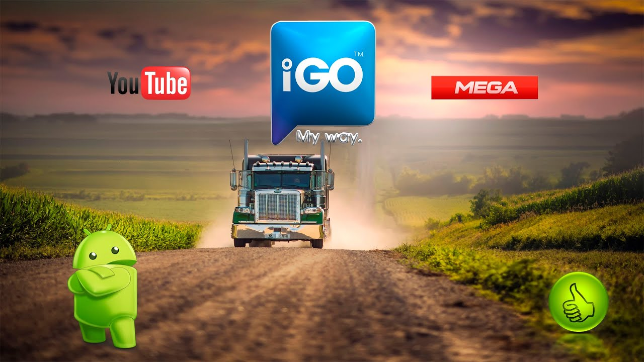 Igo Primo Truck Europe Full Y Totalmente En Espanolyoutubemegaandroid Youtube