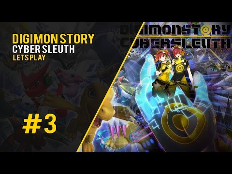The New Hacker Group? - Digimon Story Cyber Sleuth #3