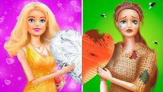 Rich Doll vs Broke Doll / 11 DIY Barbie Ideas