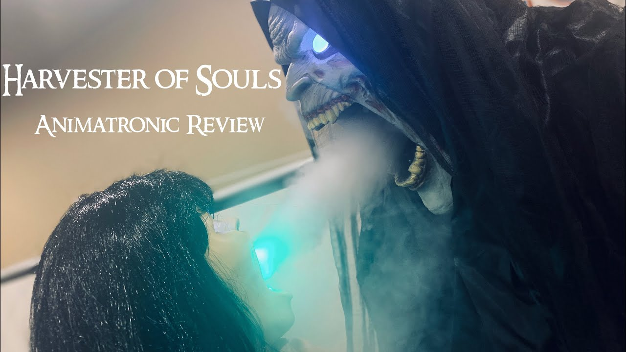 Harvester of Souls Animatronic Review - Spirit Halloween 2020