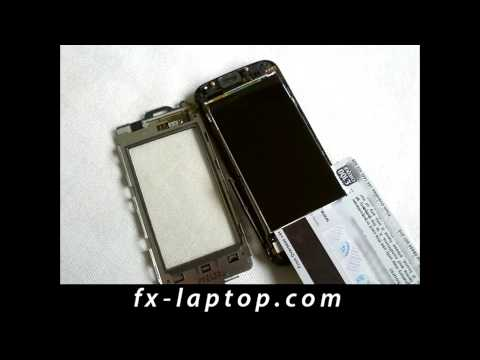 Disassembly Nokia 5530 Xpress Music - Battery Glass Screen Replacement