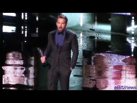 Ryan Reynolds at Canada's Walk of Fame 2014