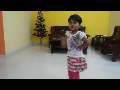 Cute Jiya and Shelton dance for Vijay song...