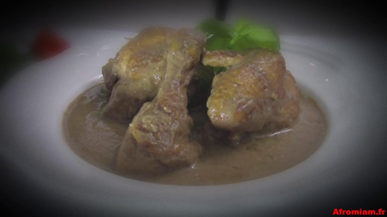 poulet sauce arachide ou à la moambe livré à domicile par afromiam ... - Cuisine Livree A Domicile