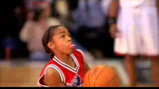 Calvin Cambridge (Lil Bow Wow) Game Winning Dunk Against The 76ers on Like Mike
