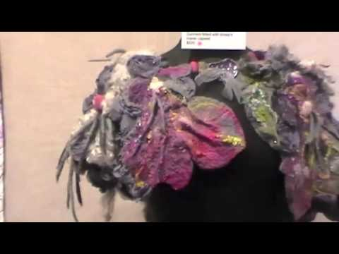 Inspired By: Textile Art Alliance Members Exhibition video walkthrough