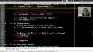 ازاي تعمل Keylogger للينكس بالبايثون ^_^