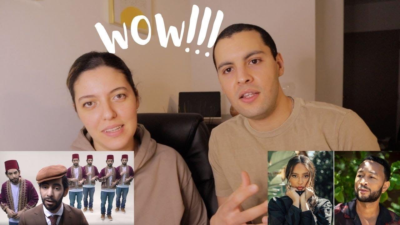 Reaction to the Evolution of Arabic Music & Faouzia - Tears of Gold ! / تطور الموسيقى العربية