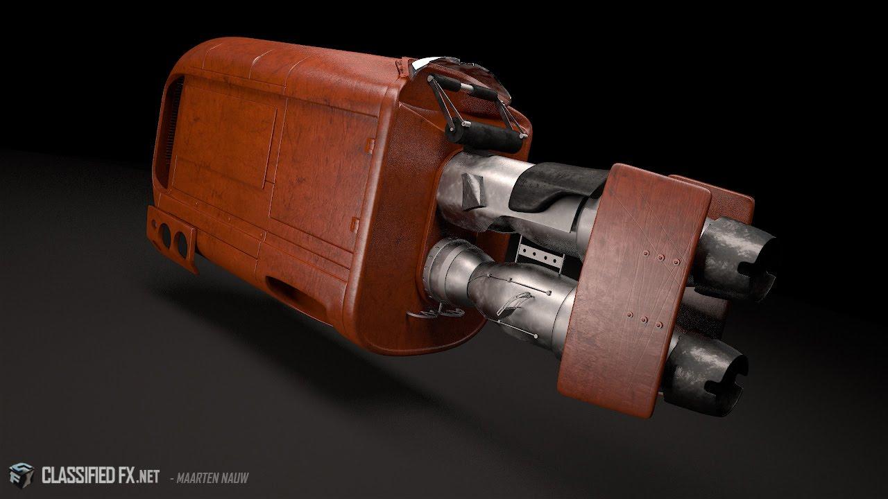 star wars episode vii the force awakens 3d model youtube. Black Bedroom Furniture Sets. Home Design Ideas