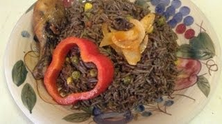 How to make Djon Djon! (Haitian Black Rice)