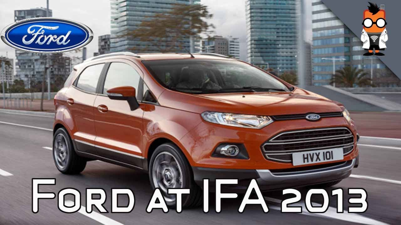 ford sync applink limited edition ecosport more at ifa 2013 youtube. Black Bedroom Furniture Sets. Home Design Ideas