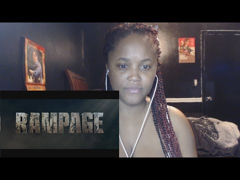 RAMPAGE - OFFICIAL TRAILER 1 REACTION!