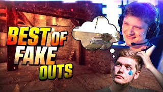 CS:GO - BEST PRO FAKE OUTS OF ALL TIME! (MISSLEADING & OUTPLAYING MOMENTS)