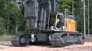 Liebherr - Mr. Torque - the LB 44 rotary drilling rig