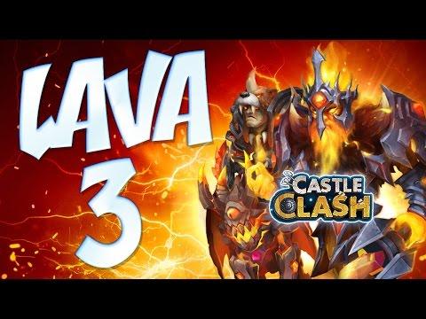 Castle Clash: Lava 3 @BRAT TEAM