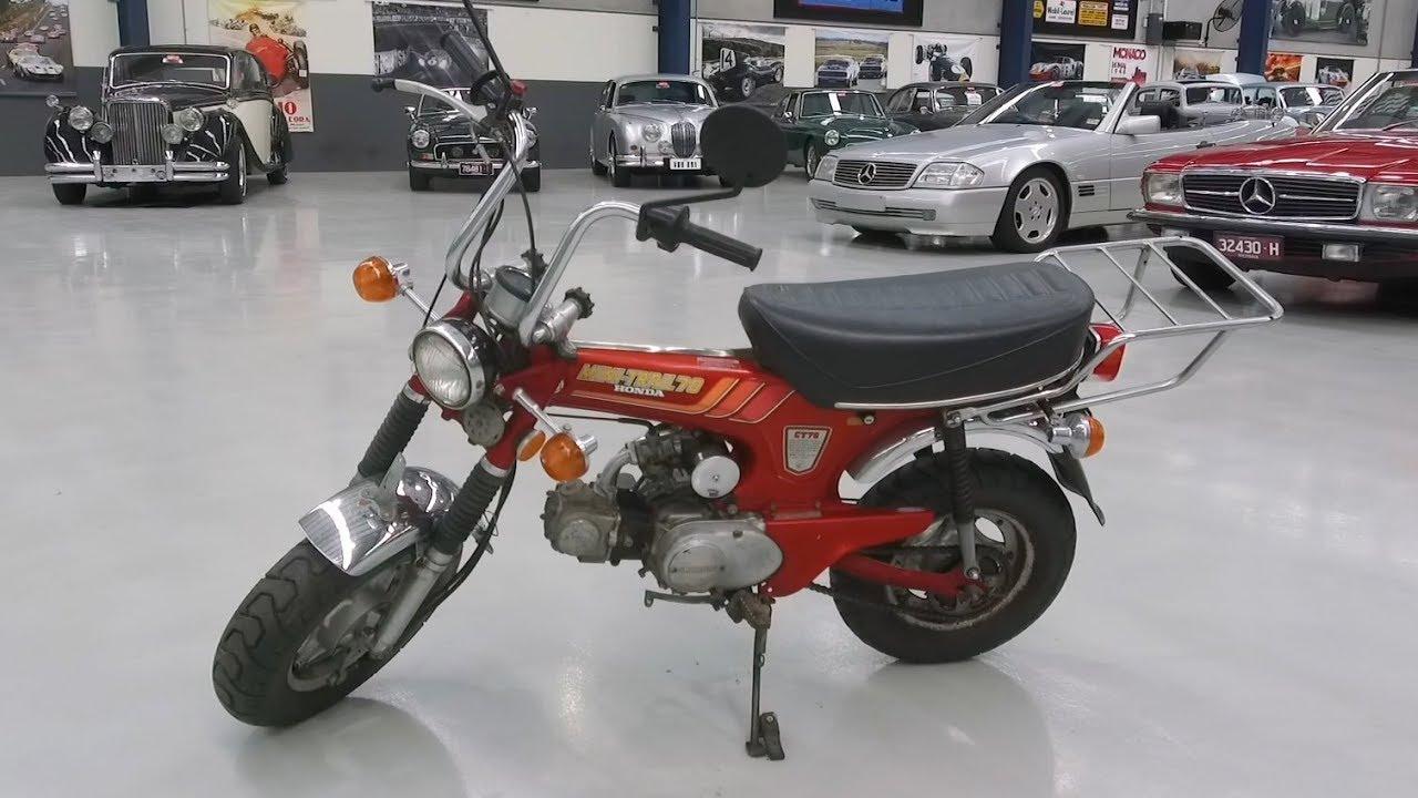 1978 Honda CT70 70cc Mini Trial Bike - 2020 Shannons Autumn Timed Online Auction