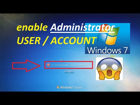 How To Enable Administrator Account In Windows 7    Enable Admin User In All Windows    I TeCh UK