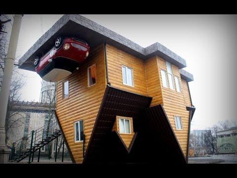 Дом вверх дном на ВВЦ