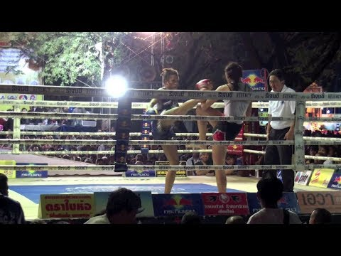 Farida Okiko (Tiger Muay Thai) vs Namtan @ King