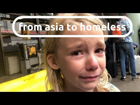 from asia to homeless :: 1 ACT that SETS US FREE (SELLING our STUFF)