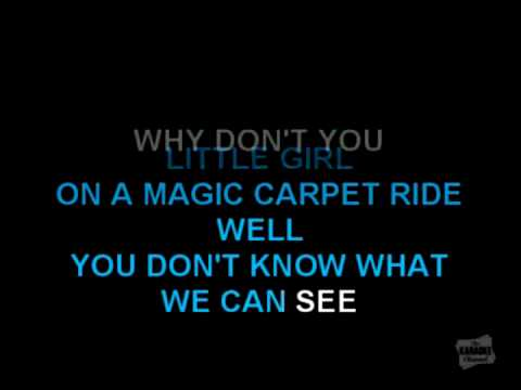 Reverse Karaoke - Magic Carpet Ride