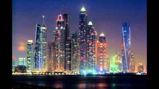 Dubai Marina Towers Sunset in HD by  Ahmad Al Assi