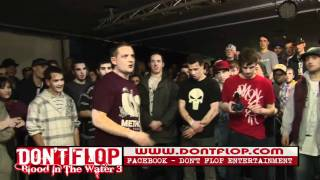 DON'T FLOP - Rap Battle - Sensa Vs Dizaster