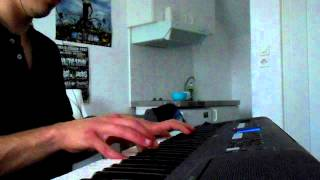 Dragonforce-Cry of the Brave(keyboard cover)