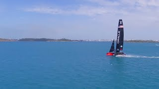 From Sailing to Flying with ORACLE TEAM USA