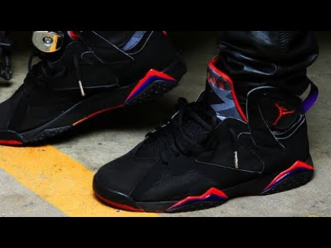 8df8fb1131c862 ... 2012 Air Jordan Raptor 7 Dark Charcoal VII Sneaker Review W DjDelz Plus  On Foot + ...