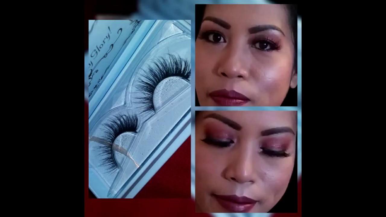 c05c0caa167 Miss Kiss 100% Fur Mink Hair Eyelash 3D48 & 3D04 - YouTube