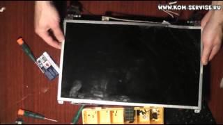 видео Замена матрицы ноутбука Emachines