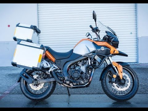 The New 2019 Csc Rx4 Walk Around Of Adv Bike Features