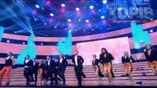 Хор  Львова (Руслана Лыжичко)   - Let it Snow!(Dean Martin cover)/29.12.2013/Полуфинал