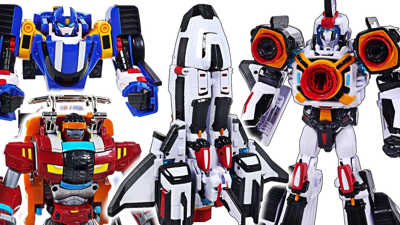 Tobot V Transform robot Rocket! Defeat the dragon, dinosaurs with Speed, Monster! - DuDuPopTOY