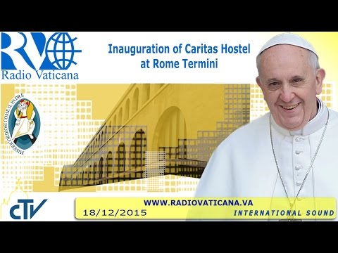 Opening of the Holy Door of the Caritas Hostel - 2015.12.18