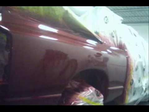 Waterborne Spray Paint Repair