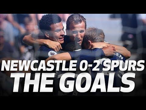 DELE & DAVIES GOALS | Newcastle 0-2 Spurs