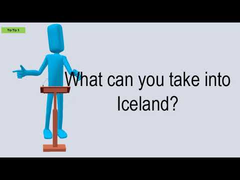 What Can You Take Into Iceland?
