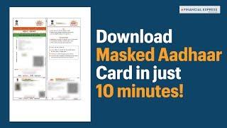 Masked Aadhaar Card: How to download new form of Aadhaar Card in 10 simple steps