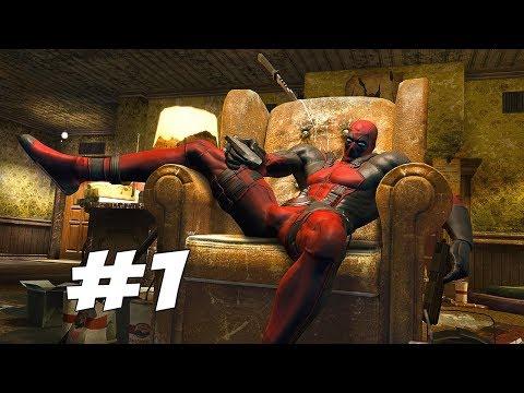 ДЕДПУЛ НАПИСАЛ ИГРУ ПРО СЕБЯ - ОТЛИЧНЫЙ МЯСНОЙ СЛЭШЕР - Deadpool - Прохождение #1