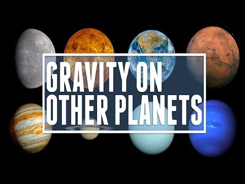 Gravity On Other Planets Compared To Earth!