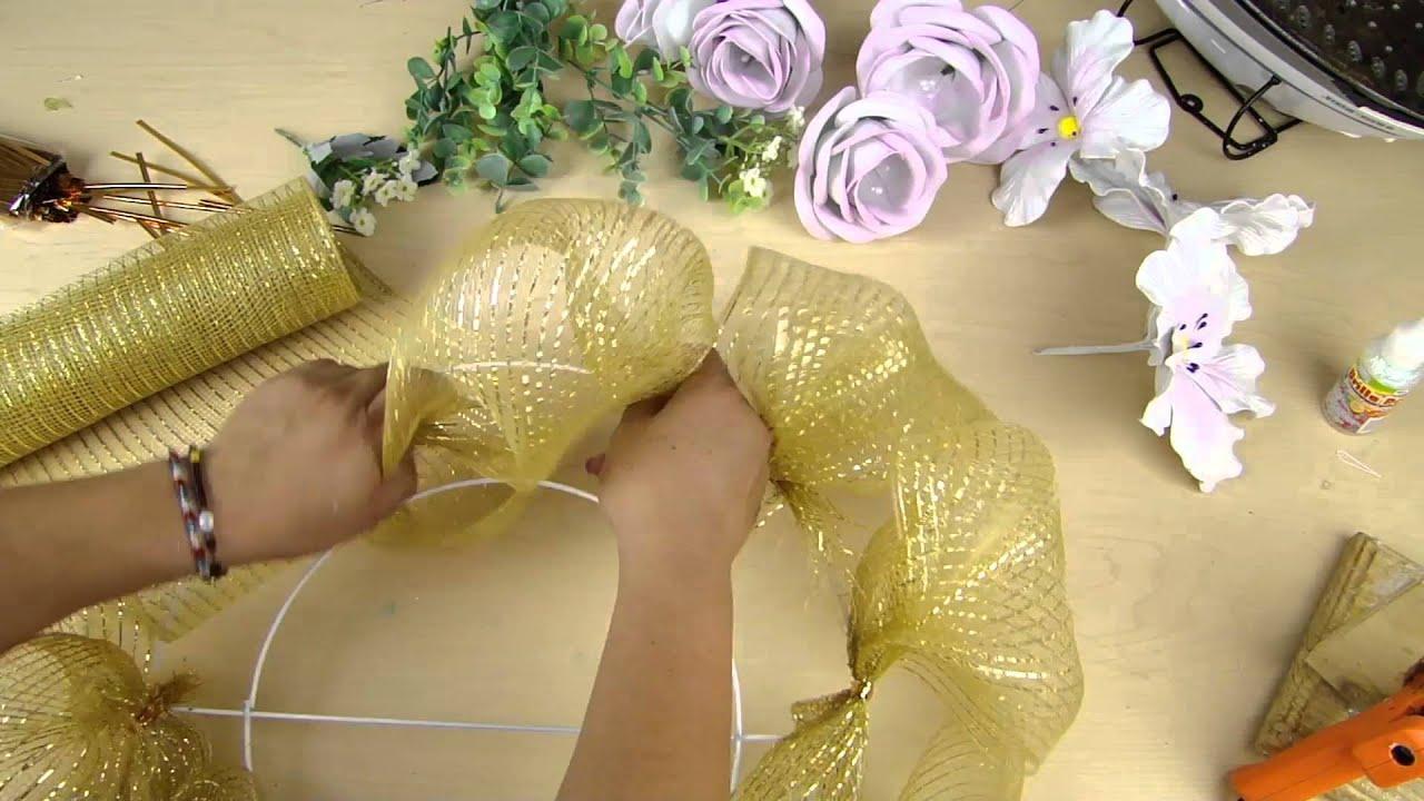Parte 2 medall n para bodas manualidad de foamy youtube for Adornos navidenos que se pueden hacer en casa