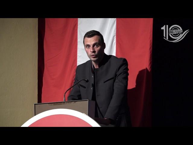 """""""Sind auf dem richtigen Weg"""" – Die Rede von Landesjugendsprecher Benjamin Pixner"""